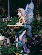 Fairy Statue in Conservatory
